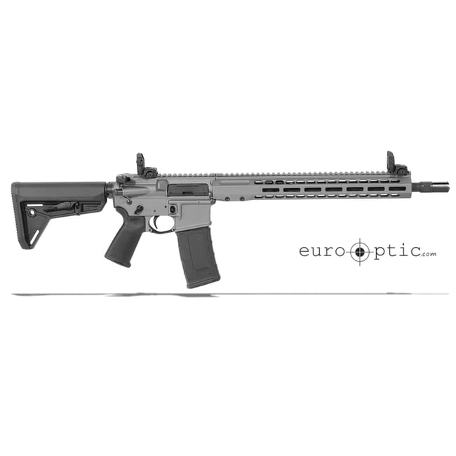 "Barrett REC7 DI 300 Blackout 16"" Tungsten Grey Cerakote Carbine 17177"