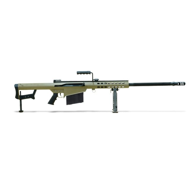 "Barrett Model 82A1 .416 Barrett Rifle System: Tan Receiver 29"" Fluted Barrel Showroom Demo 14029"