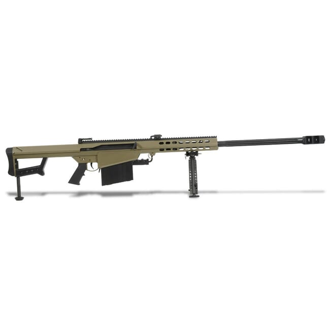 Barrett Model 82A1 50 BMG Tan Rifle 14031