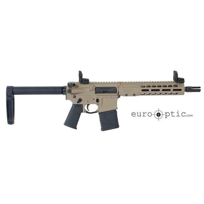"""Barrett REC7 DI 5.56 NATO 10.25"""" FDE Cerakote Pistol 17950"""
