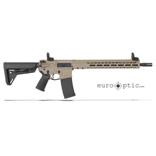 """Barrett REC7 DI 5.56 NATO 16"""" FDE Cerakote Carbine 17123"""