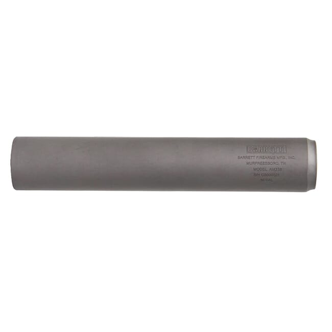 Barrett 338 Direct Connect Suppressor Titanium 15312