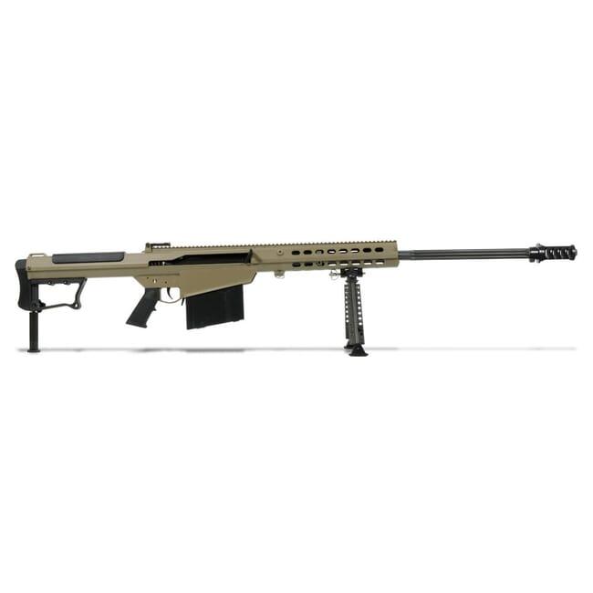 Barrett M107A1 Rifle System Tan Cerakote Receiver Black 29' Fluted Barrel 14559 14559