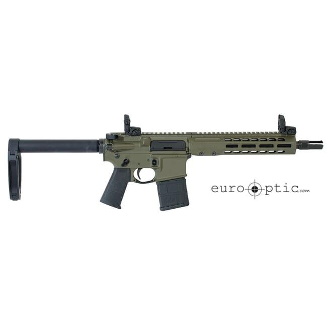 """Barrett REC7 DI 5.56 NATO 10.25"""" OD Green Cerakote Pistol 18021"""