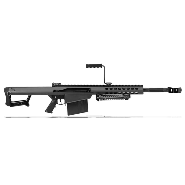 "Barrett Model 82A1 CQ 50 BMG Rifle System Close Quarter 20"" Barrel Black Parkerized Showroom Demo 13318"