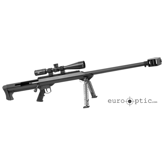 "Barrett M99 .416 Barrett Optics Pkg. Black 32"" Heavy Bbl with Vortex Viper 5-25x50 FFP EBR-2C MRAD Scope and 30mm Ultra High Rings 18641"