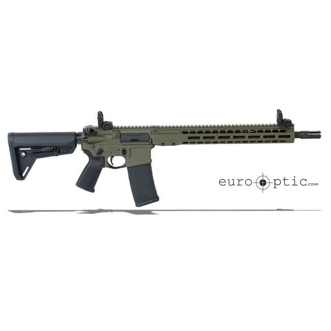 """Barrett REC7 DI 5.56 NATO 16"""" OD Green Cerakote Carbine 17122"""