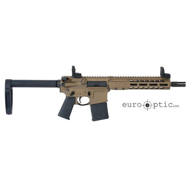 "Barrett REC7 DI 5.56 NATO 10.25"" Burnt Bronze Cerakote Pistol 18022"