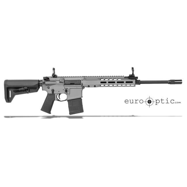 "Barrett REC7 5.56 NATO 16"" Flyweight Tungsten Grey Cerakote 17065"