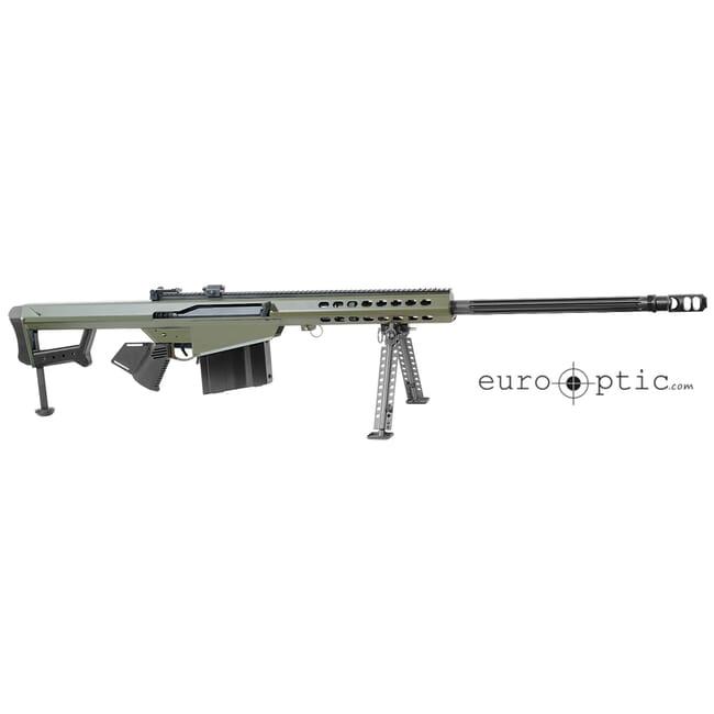 """Barrett 82A1 416 Barrett 29"""" OD Green Cerakote Rifle Showroom Demo 17466"""