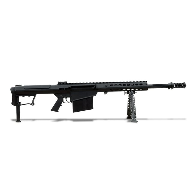 Barrett M107A1 Rifle System Black Receiver Black 20' Fluted Barrel 14084