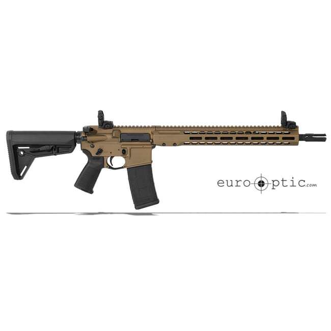 """Barrett REC7 DI 5.56 NATO 16"""" Burnt Bronze Cerakote Carbine 17125"""