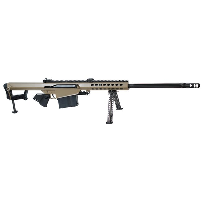 "Barrett Model 82A1 .416 Barrett Compliant Rifle System FDE Cerakote Receiver Non-Detach Mag., 29"" Fluted Barrel 17463"
