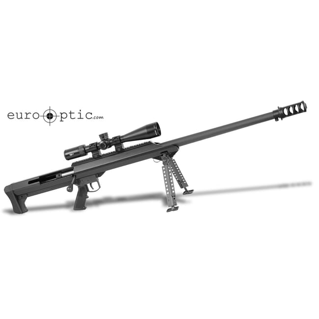 "Barrett M99 .416 Pkge Black 32"" Heavy Bbl Rifle w/ Vortex Viper PST 5-25x50 FFP EBR-2C MRAD Scope, QDL Brake, and 30mm Zero-Gap Rings 18730"