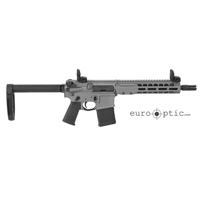 """Barrett REC7 DI 5.56 NATO 10.25"""" Tungsten Grey Cerakote Pistol 17951"""