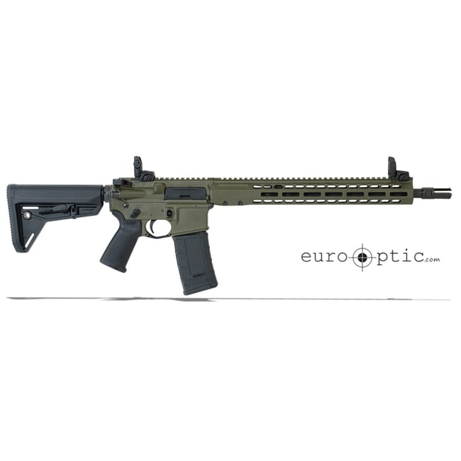 "Barrett REC7 DI 300 Blackout 16"" OD Green Cerakote Carbine 17178"