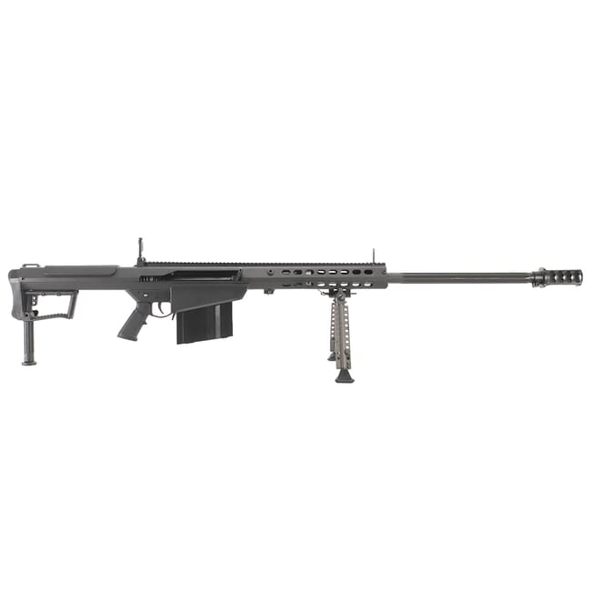 "Barrett M107A1 .50 BMG Semi-Auto Rifle System Black Receiver Black 29"" Fluted Barrel USED Rifle 14085"