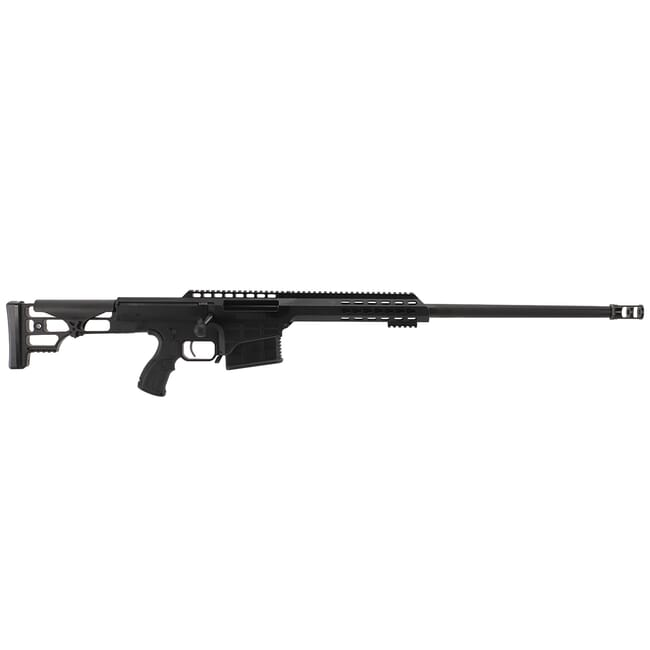 "Barrett 98B Tactical .338 Lapua Mag Rifle System 24"" Heavy Bbl Blk Anodized Rec USED 14798"