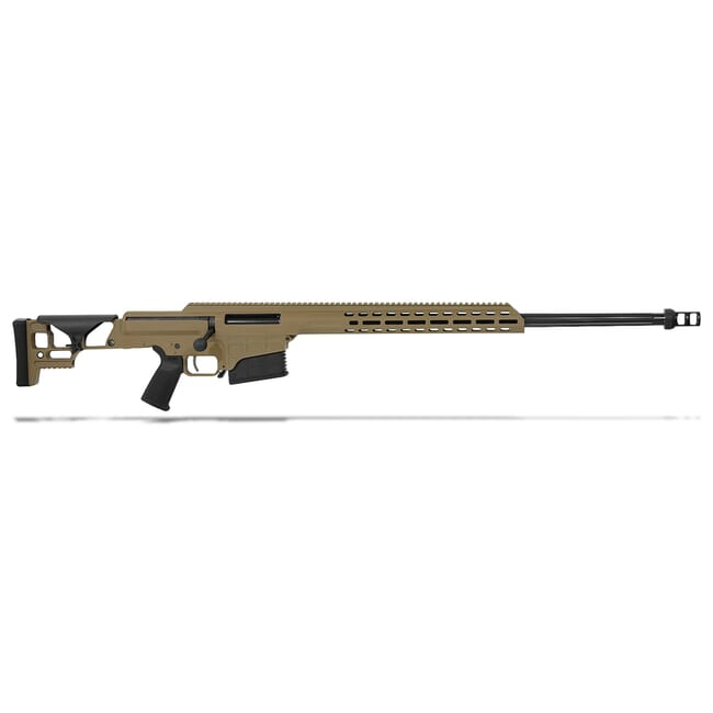 "Barrett MRAD .300 Norma Mag Bolt Action Fixed FDE 26"" Fluted Bbl 1:10"" 10rd Rifle 18509"