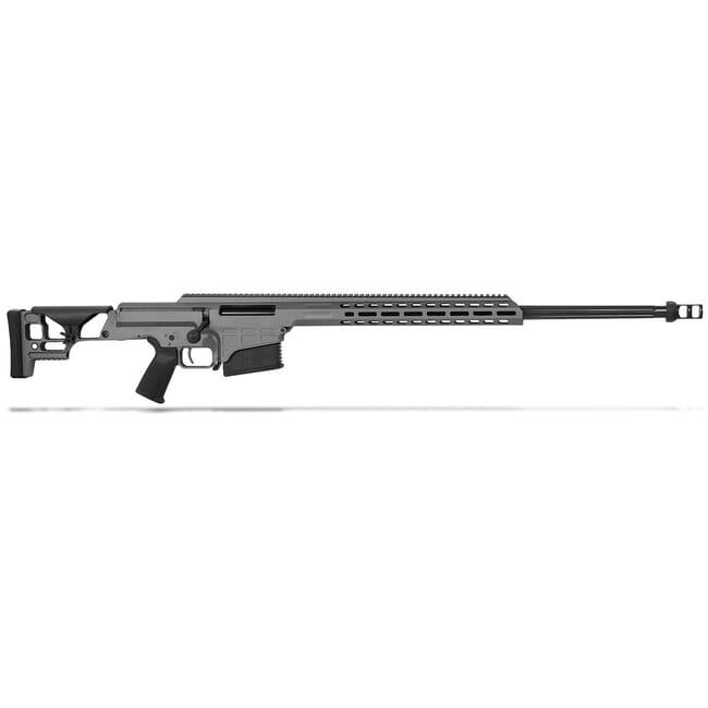 "Barrett MRAD .300 Norma Mag Bolt Action Fixed Tungsten Grey Cerakote 26"" Fluted Bbl 1:10"" 10rd Rifle 18510"