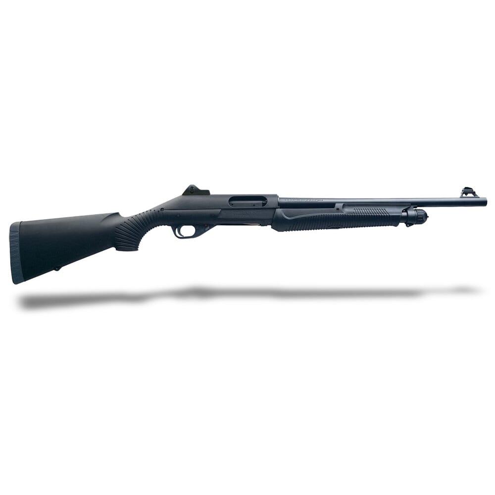 "Benelli Nova Tactical 12ga 3-1/2"" 18.5"" Black 4+1 Like New Demo Pump Action Shotgun w/Ghost Ring Sights 20051"