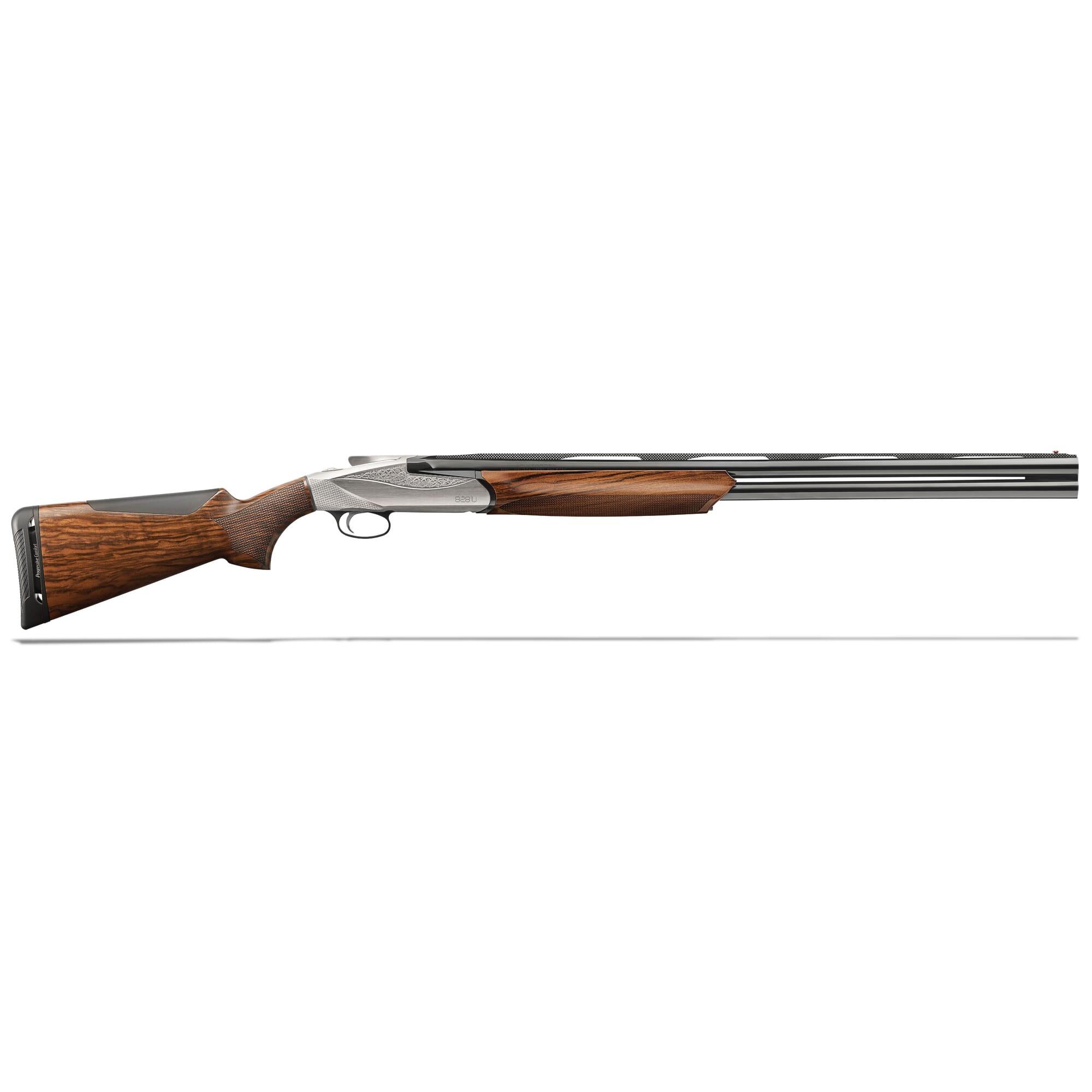 "Benelli 828U 12-gauge 26"" Nickel Receiver Shotgun 10703"