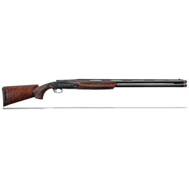 "Benelli 828U Sport 12ga 3"" 30"" AA Satin Walnut Blue Progressive Balancing O/U Break Action Shotgun 10730"