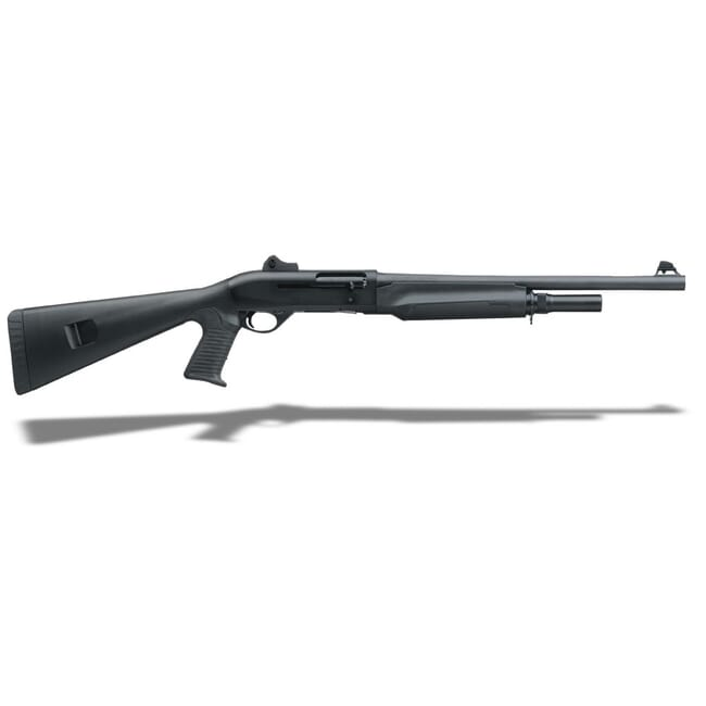 """Bennelli M2 Tactical Black synthetic, Pistol grip, Ghost-ring sight 18.5"""" 11052"""