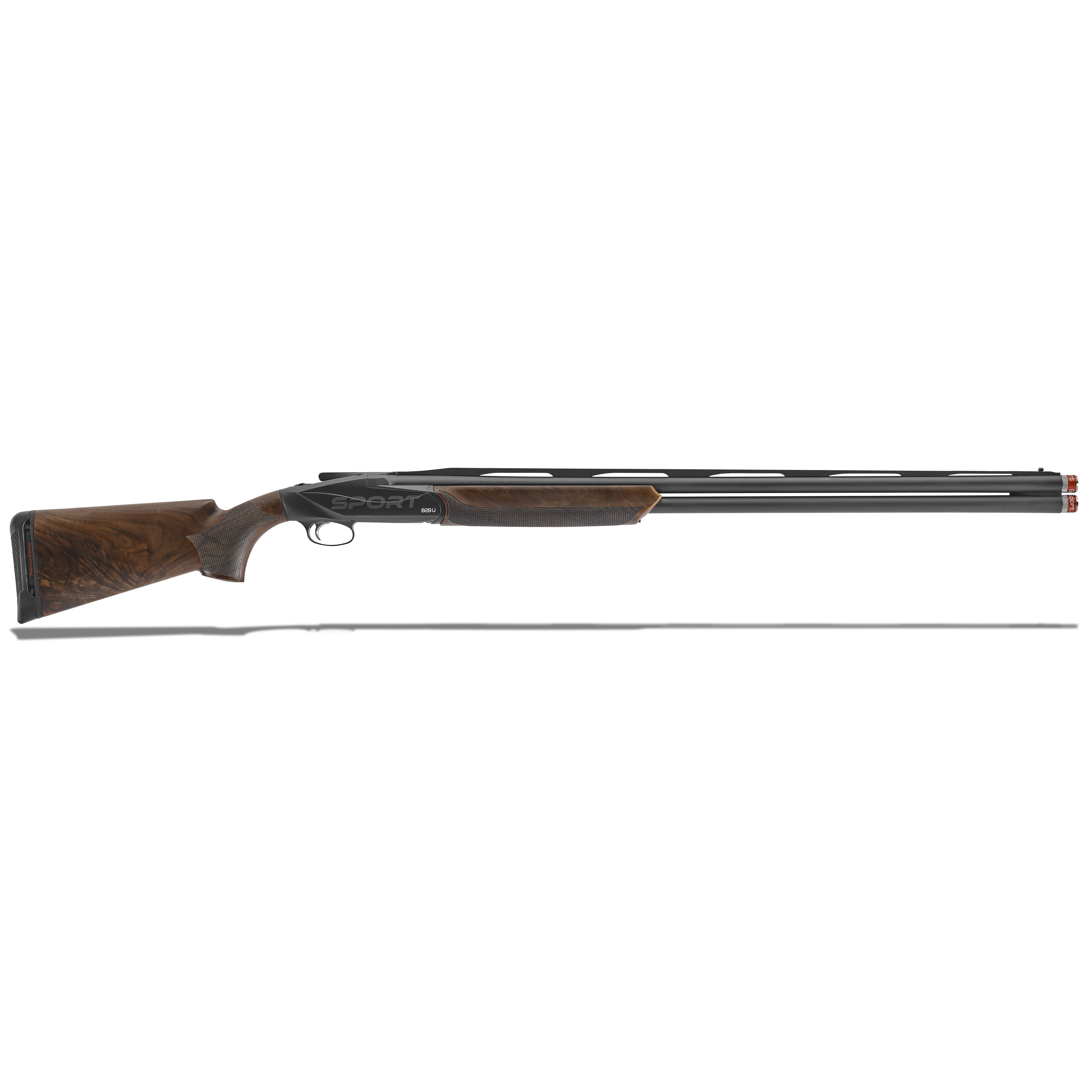 """Benelli 828U Sport 12ga 3"""" 32"""" AA Satin Walnut  O/U Break Action Shotgun 10731"""