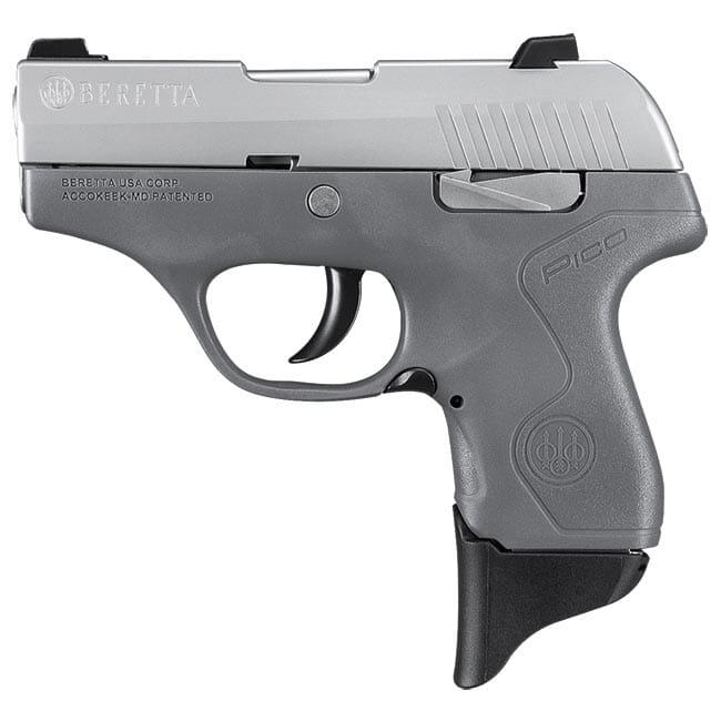 Beretta Pico Inox Gray .380 ACP DA 6rd Pistol JMP8D95
