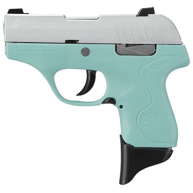 Beretta Pico Inox RE Blue .380 ACP DA 6rd Pistol JMP8D75