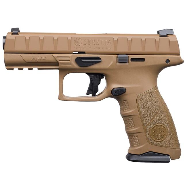 Beretta APX Full Size FDE 9mm Striker 10rd Pistol JAXF92005