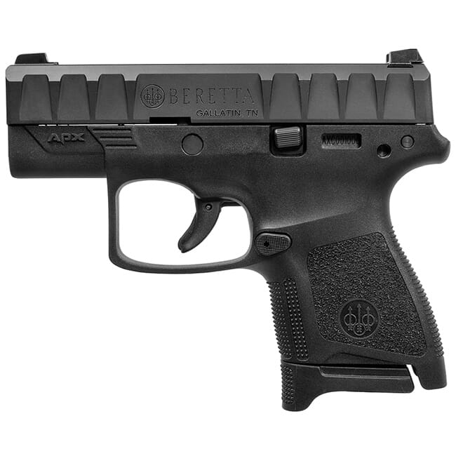Beretta APX Carry 9mm Striker-Fired Black Pistol 8Rd (1), 6Rd (1) Mags JAXN920