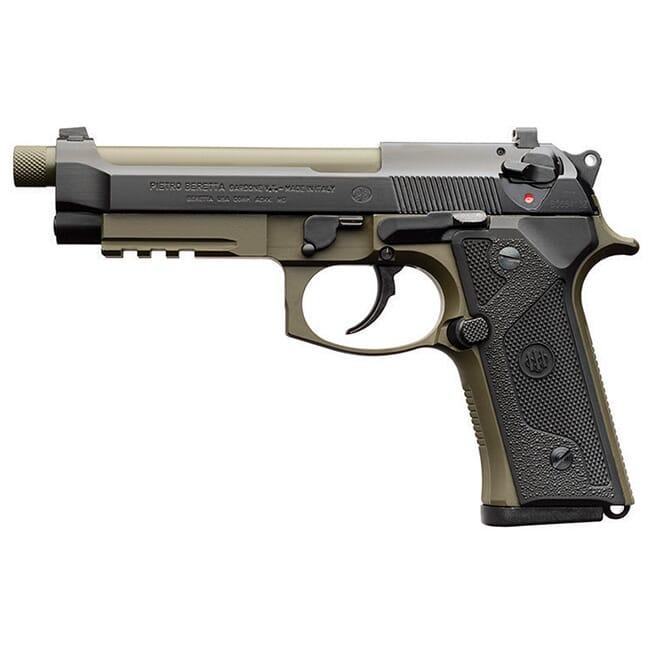 Beretta M9A3 9mm Dbl/Sngl 10rd Type F Green/Black Pistol w/ 3 mags J92M9A31