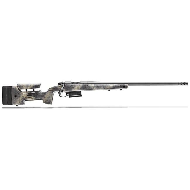 "Bergara B-14 HMR ""Wilderness"" 6.5 PRC Molded Mini-Chassis Stock 24"" Rifle w/ Muzzlebrake B14SM359"
