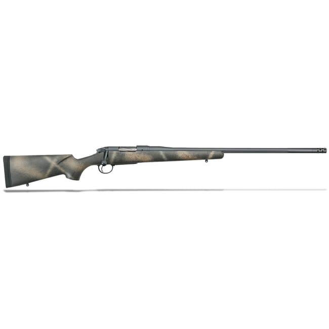 "Bergara Premier Series Highlander .300 PRC Threaded Bbl 24"" Rifle w/ Muzzlebrake BPR33-300WM"