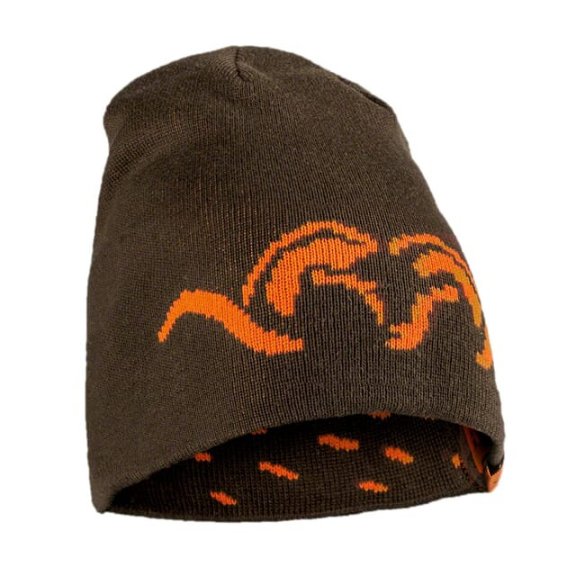 Blaser Reversible Knitted Cap Argali - Brown|BAOARKCA