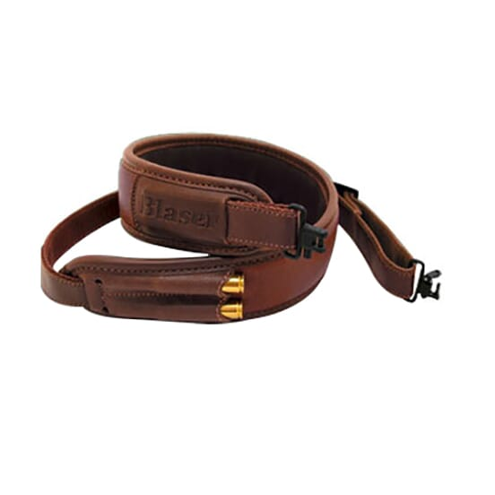 Blaser Leather Rifle Sling with European swivels