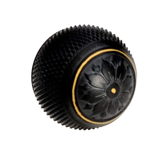 Blaser R93 steel bolt ball with gold inlay