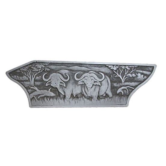 Blaser R8 Luxus Right Sideplate Cape Buffalo - Blaser R8 Sideplates