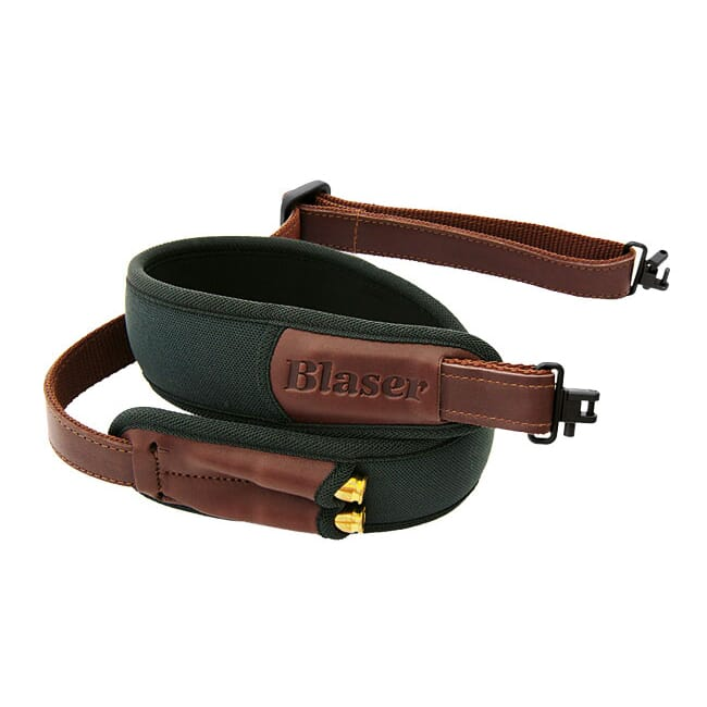 Blaser Green Neoprene Rifle Sling 1GF100