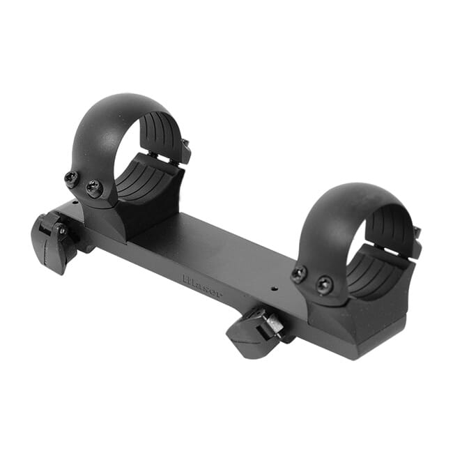 "Blaser Quick Detach Saddle Mount with 1"" alloy rings - High"