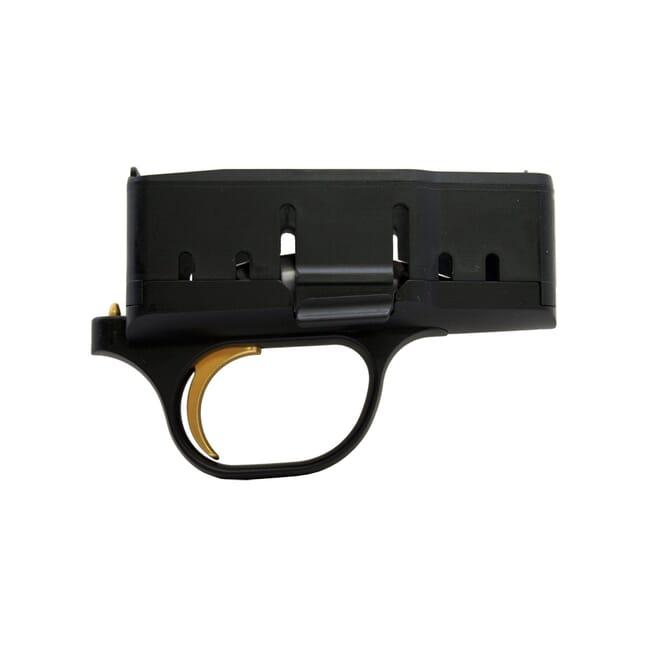 Blaser R8 Fire Control 2.5 lb trigger pull Black with Gold Trigger - Blaser R8 Fire Controls