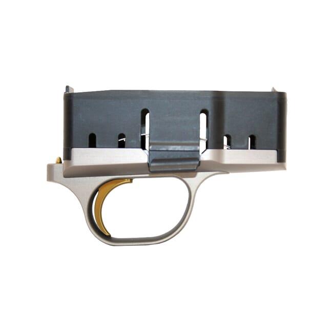 Blaser R8 Fire Control 2.5 lb trigger pull Grey with Gold Trigger - Blaser R8 Fire Controls