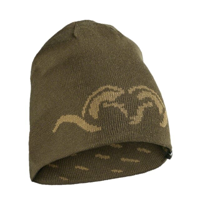 Blaser Reversible Knitted Cap Argali - Khaki BAOARKCA
