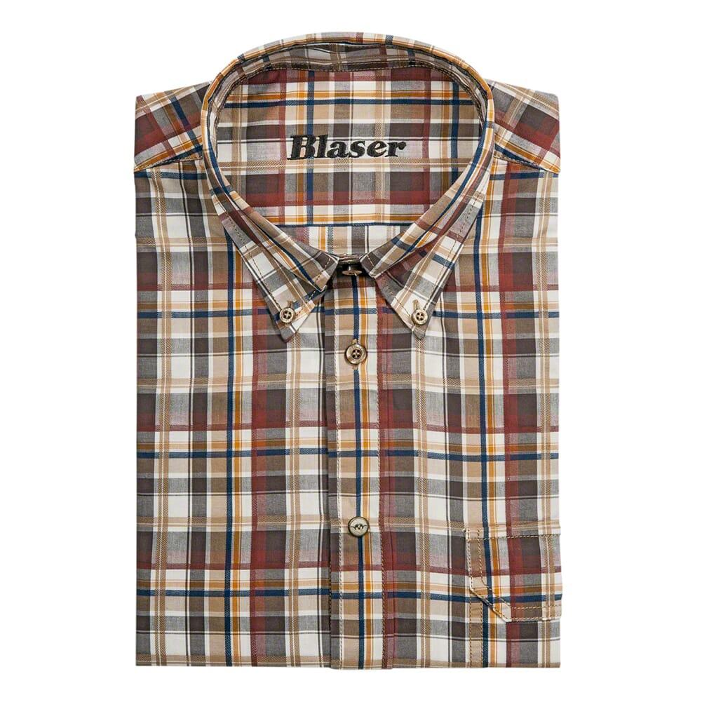 Blaser Men 's Georg Poplin Shirt MD BAOSMGPO