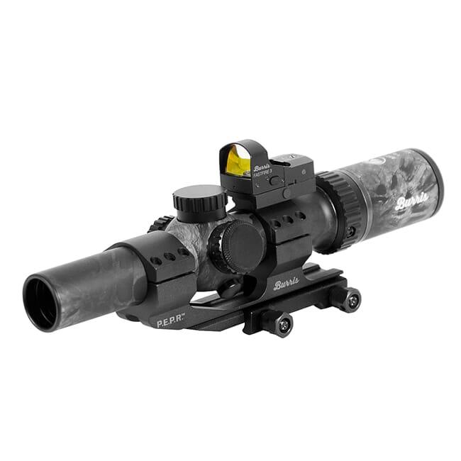 Burris MTAC 1-4x24mm Illum Ballistic AR Prym 1 Blackout Scope Combo