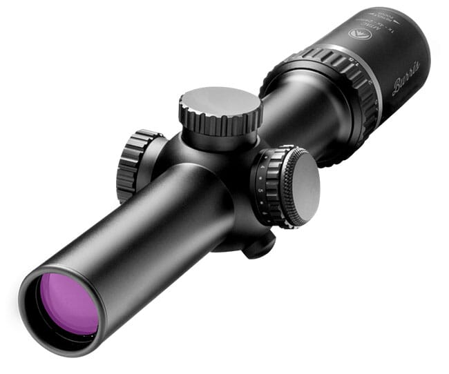 Burris MTAC 1X-4X-24mm illum Ballistic AR Scope 200426