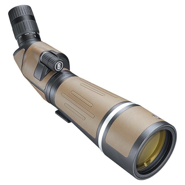 Bushnell Forge Spotting Scope 20-60x80 Roof Prism 45 deg, ED Prime, FMC, EXO Barrier SF206080TA