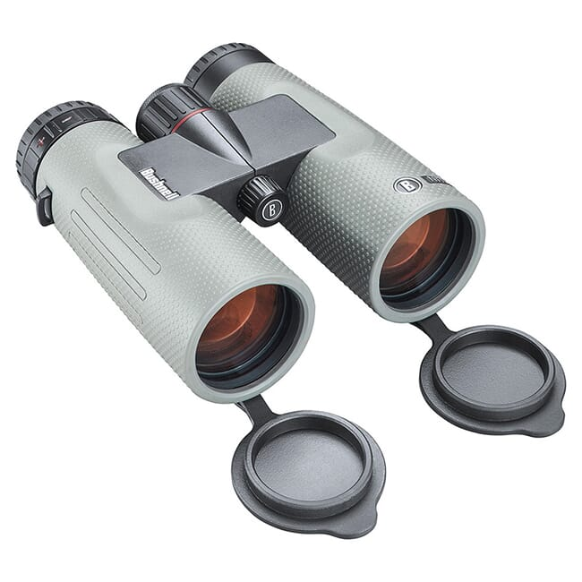 Bushnell Nitro 10x42 Gun Metal Gray Roof Prism FMC, UWD, EXO Barrier Binoculars BN1042G